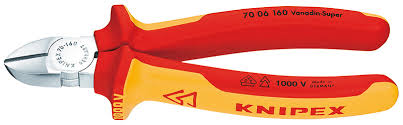 UTIL ALICATES DE CORTE DIAGONAL KNIPEX 70 06 160