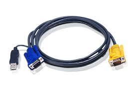 CABLE ADAPTADOR KVM 1 PUERTO ATEN USB LEGACY PS2 1,8M