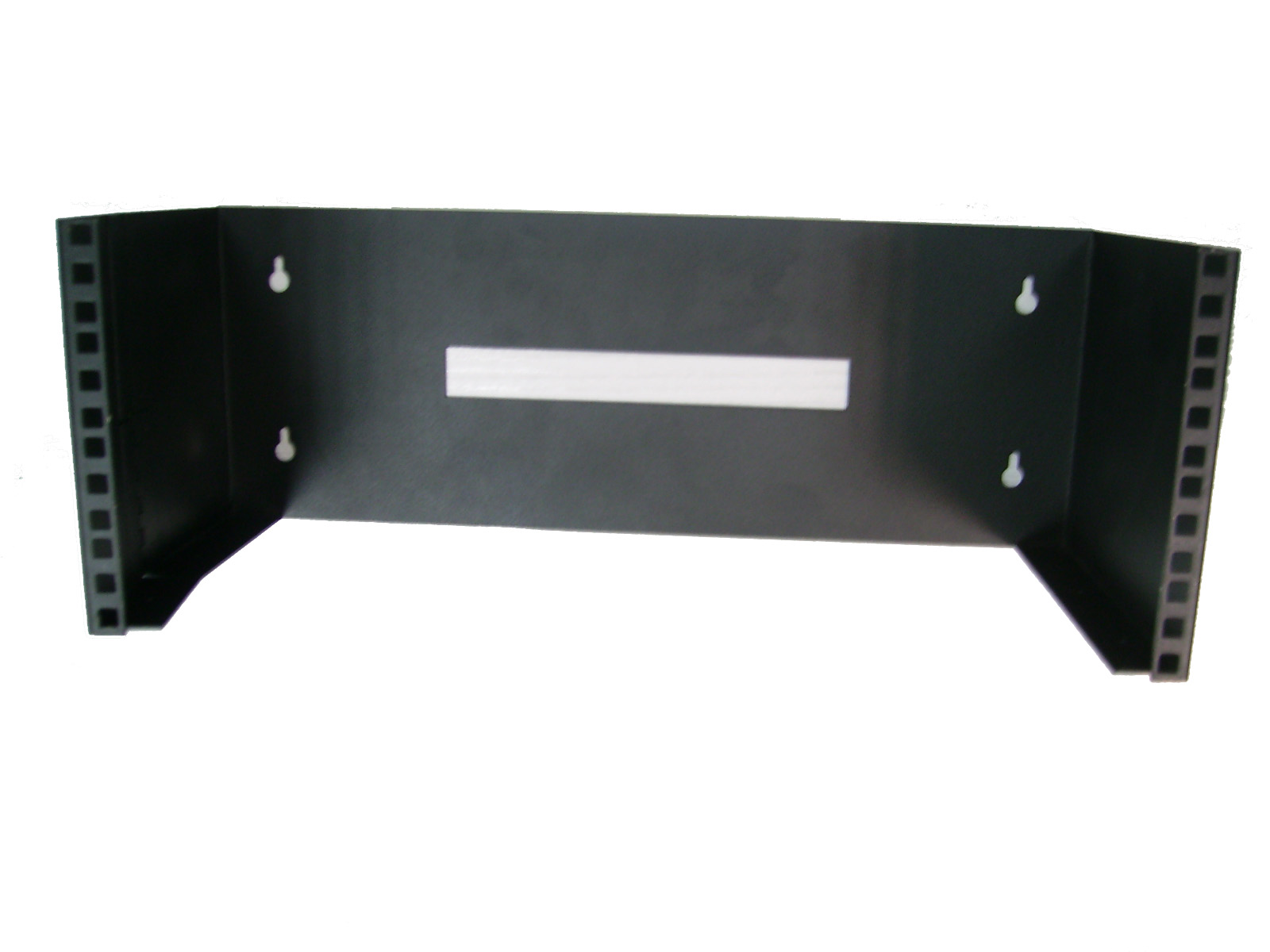 "CHASIS DE PARED 19"" 4Ux200 con bisagra lateral negro"