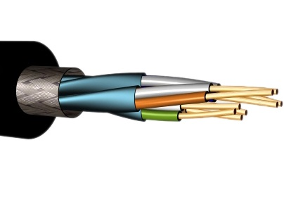 CABLE S/FTP C7E 4X2XAWG23/1 0PE (1000) EXTERIOR NEGRO