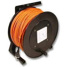 Bobina Enrollacables de C6A/class Ea S/FTP PiMF 50 metros cable CAT7 (Asomep)