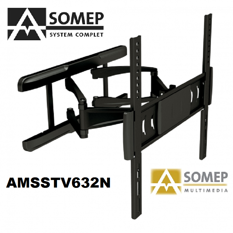 "Soporte orientable de pared para TV de 32"" a 55"" (81 a 140 cm)."