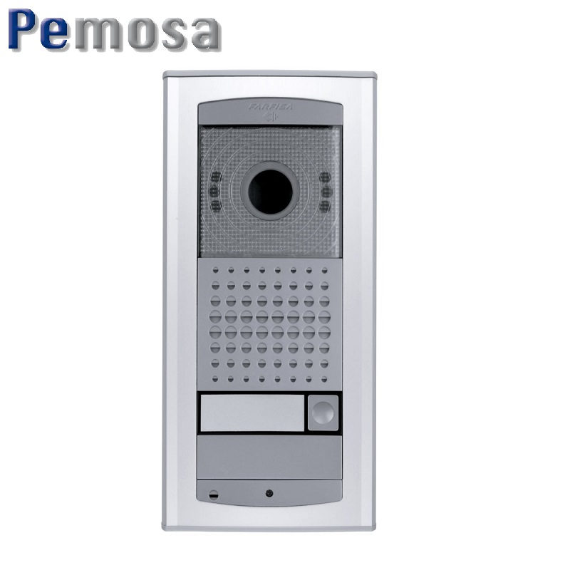 PLACA IP DE 1 PULSADOR. AUDIO Y VIDEO