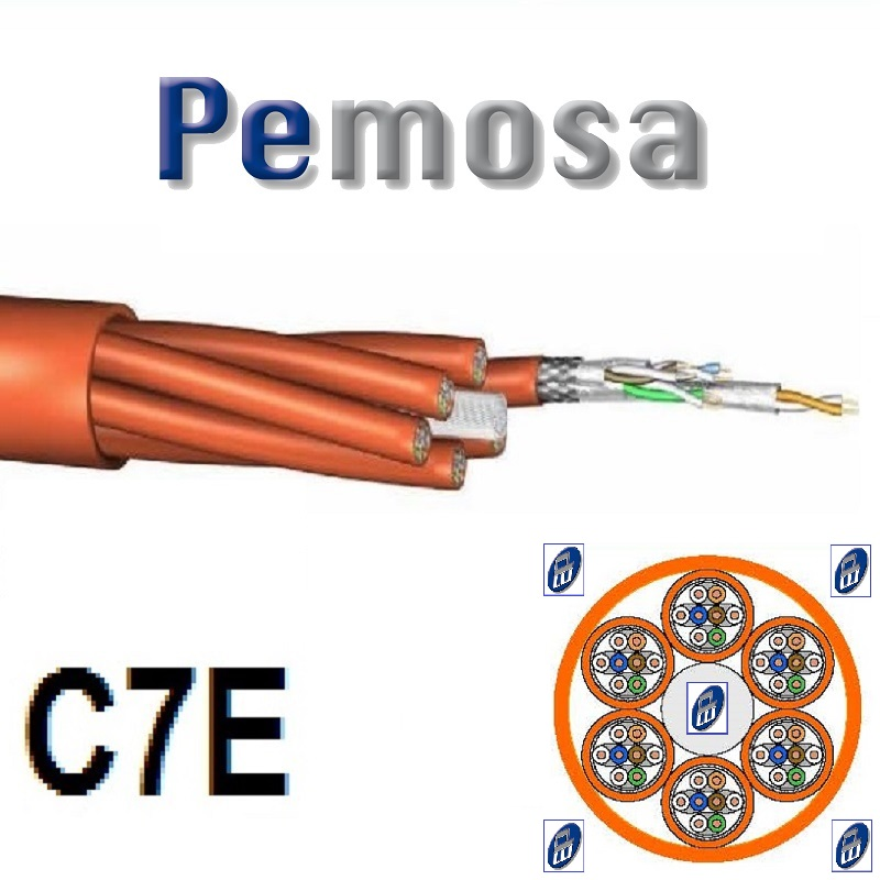 CABLE TRUNK ESPECIAL CPD DIMENSIONES REDUCIDAS CPD AWG26/1 CAT7 S/FTP 6X4P LSHF