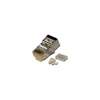 CONECTOR MACHO FTP RJ45 8P8C CAT5E/CAT6 USA