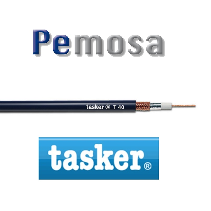 Cable Coaxial Extra-Flex Doble Pantalla 75 Ohm Tasker