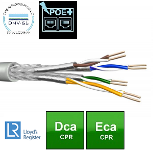 CABLE 4x2xAWG24/1 C5e Dca DNV GL